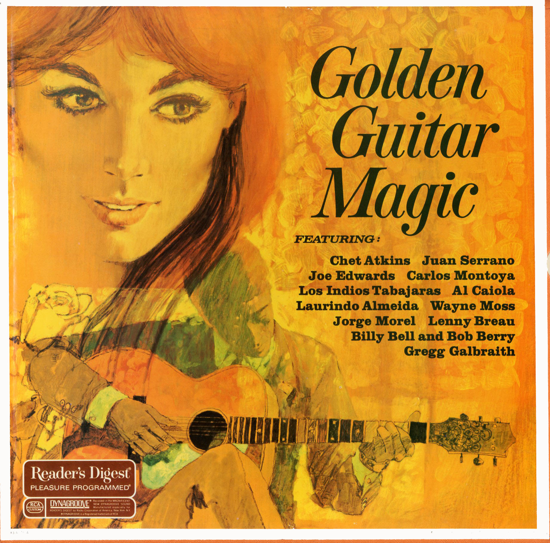 RDA75 - Golden Guitar Magic on CD
