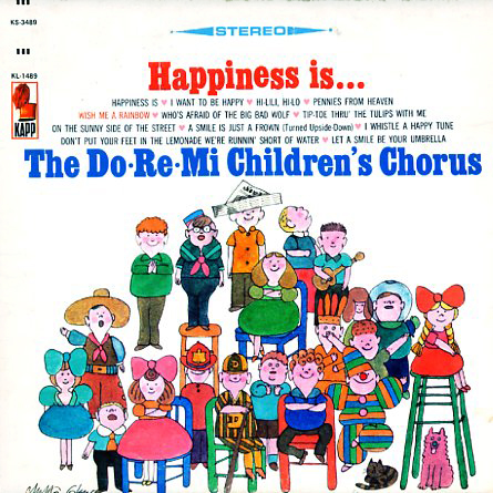 KS3489, KL1489 - Happiness Is Do Re Mi Childrens Chorus on CD