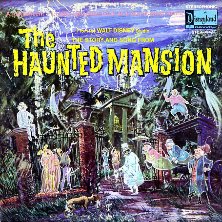 ST3947 - Haunted Mansion Story and Song on CD