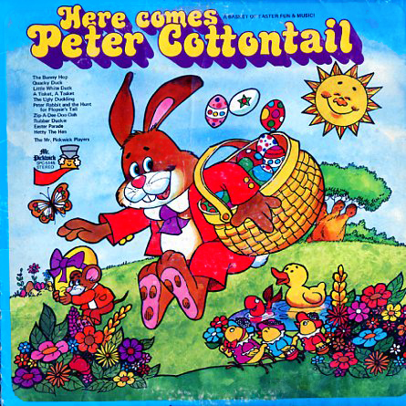 SPC5145 - Here Comes Peter Cottontail Pickwick Players and Singers on CD