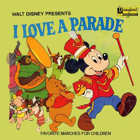 1361 - I Love A Parade on CD