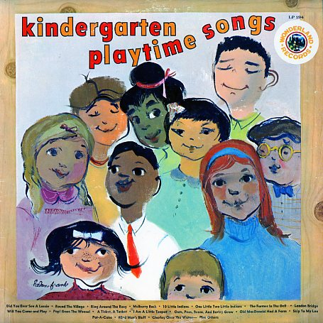 LP194 - Kindergarten Playtime Songs on CD