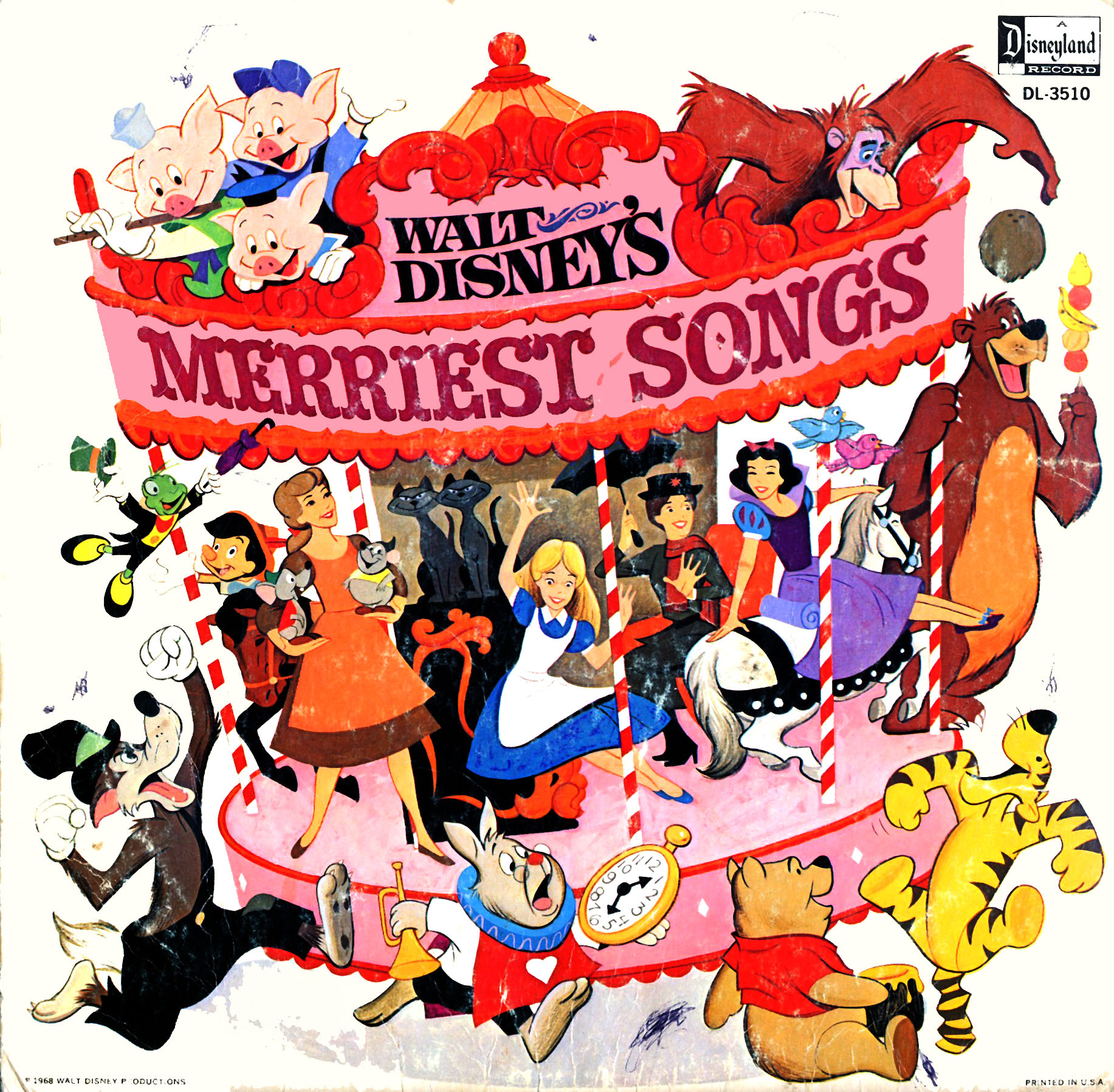 DL3510 - Merriest Songs on CD