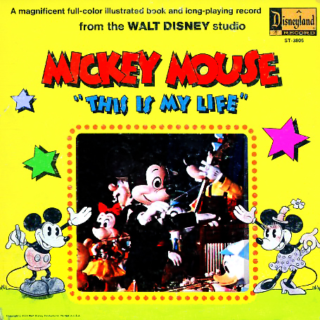 ST3805 - Mickey Mouse This Is My Life on CD