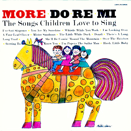 CB20038, K3311 - More Do Re Mi Songs Children Love to Sing on CD