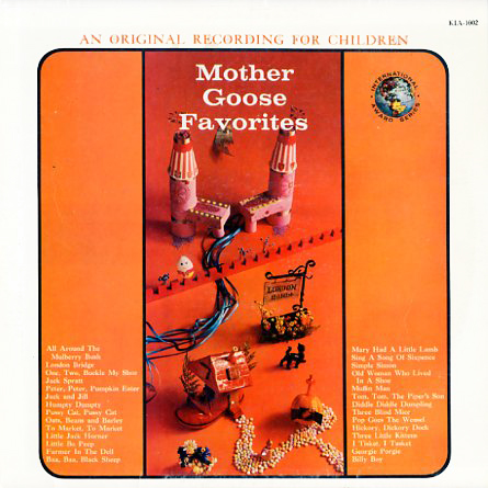 KIA1002 - Mother Goose Favorites on CD
