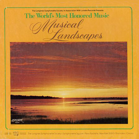 LWS995 - Musical Landscapes World's Most Honored Music Volume 1 on CD