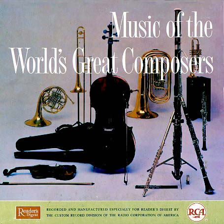 RDM - Readers Digest Music of the World's Great Composers on CD