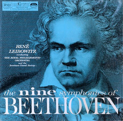 RDA6 - Nine Symphonies of Beethoven on CD