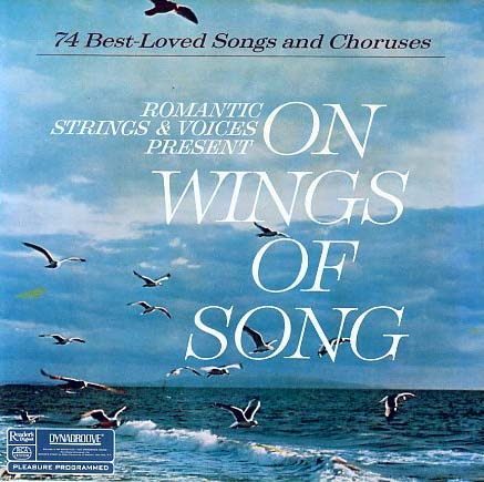 RDA43 - On Wings of Song - Romantic Strings and Violins on CD