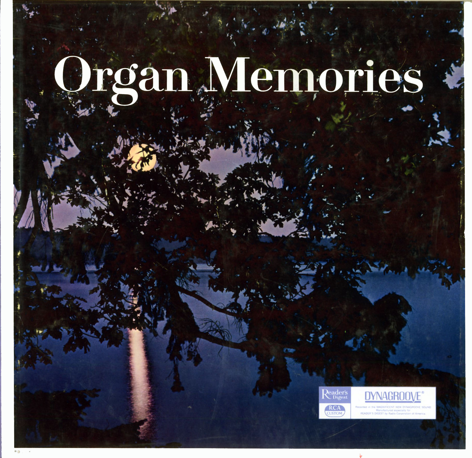 RD23 - Organ Memories on CD