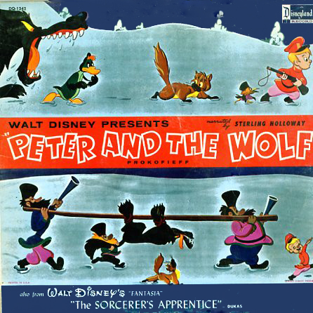 DQ1242 - Peter and the Wolf on CD