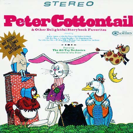 CAS1097 - Peter Cottontail on CD