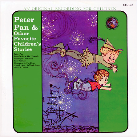 KIA1012 - Peter Pan And Other Favorite Children's Stories on CD