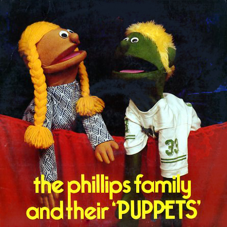HRS1185 - Phillips Family and Their Puppets on CD