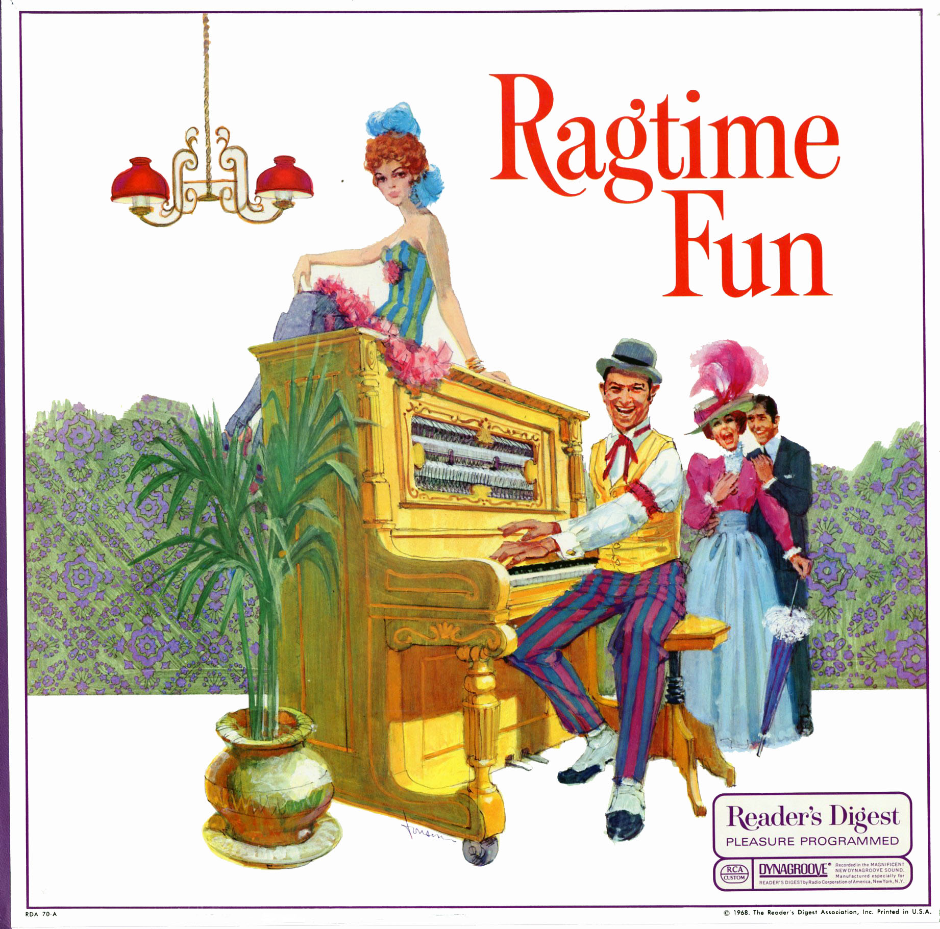 RDA70 - Ragtime Fun on CD