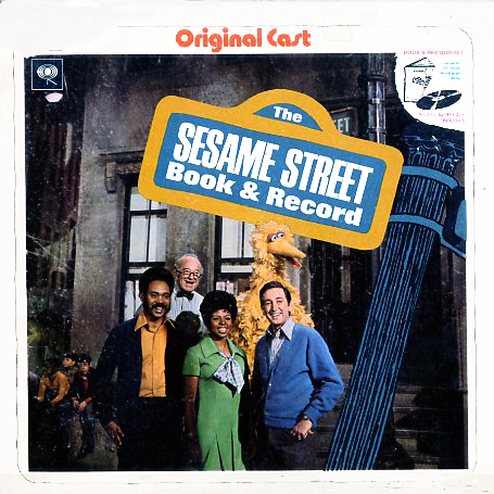 CR21530, CS1069 - Sesame Street Book and Record Original Cast on CD