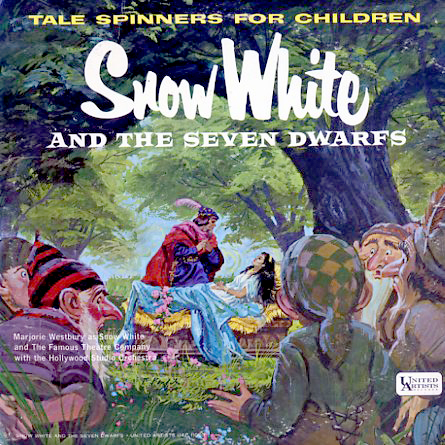 UAC11003 - Snow White and the Seven Dwarfs on CD