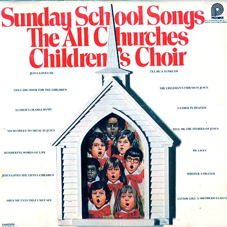 CAS1201 - Sunday School Songs All Churches Childrens Choir on CD
