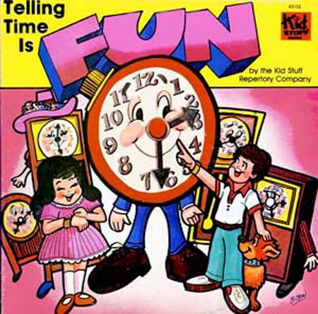 KS132 - Telling Time Is Fun on CD