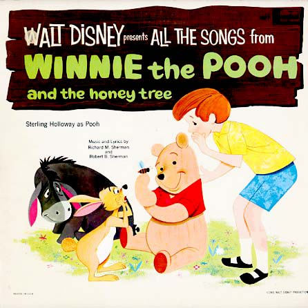 1277 - Winnie The Pooh and The Honey Tree on CD