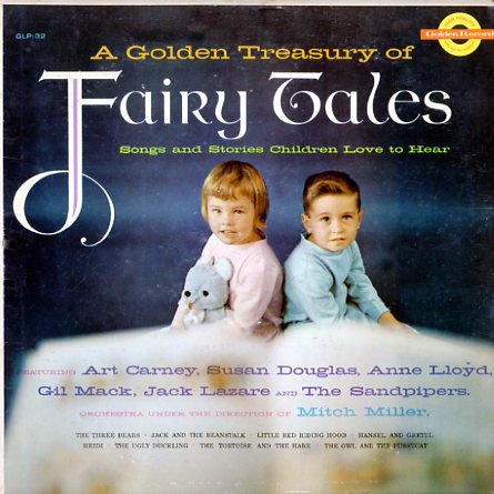 Golden Treasury Of Fairy Tales Golden Glp32 Vinyl Lp